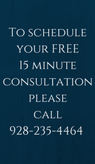 To schedule your FREE 15 minute consultation, please call 928-235-4464 or visit https_truehealingsource.com