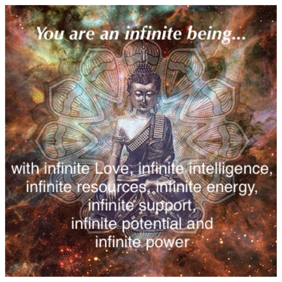 You Are an InfiniteBeing