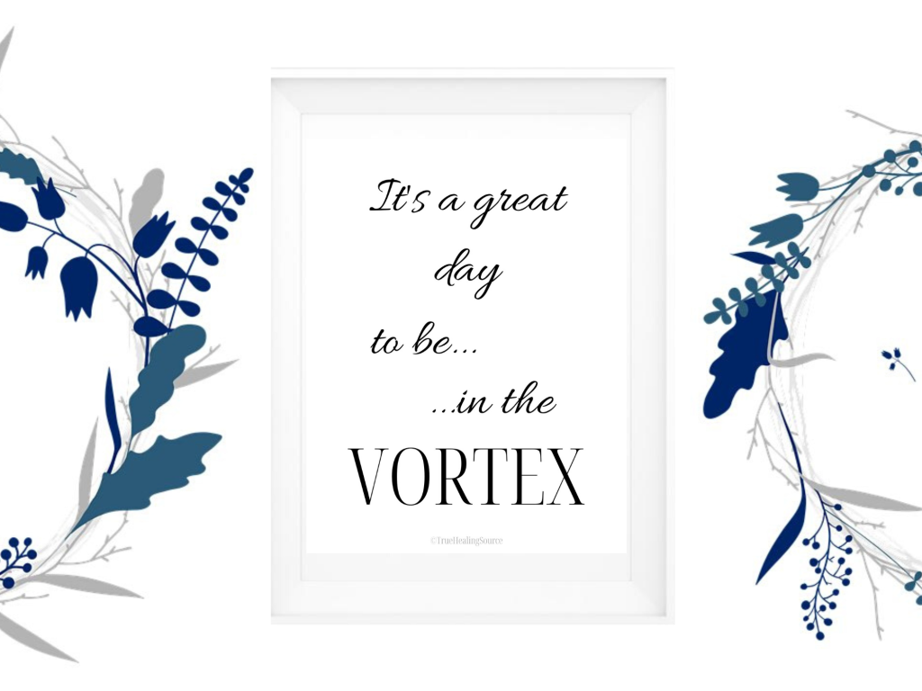 It's a great day to be in the Vortex Printable Law of Attraction Wall Art